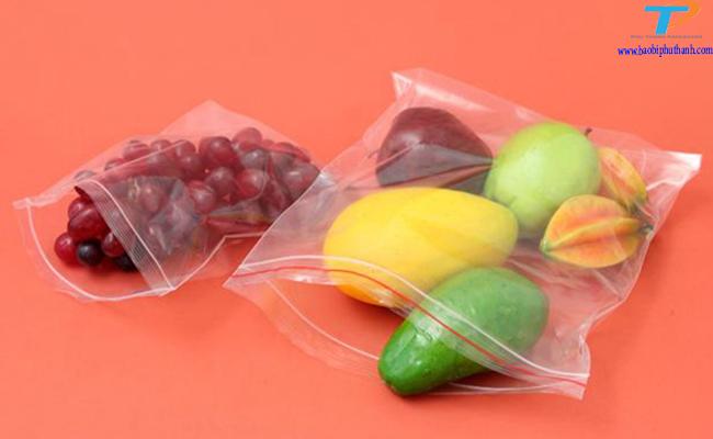 Túi zipper đựng thực phẩm